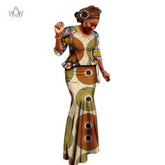 African Women Clothing Brand African Vestido Wax traditional african clothing 2 pieces for Women Skirt Set none African Fashion Designers, African Men Fashion, Africa Fashion, African Fashion Dresses, African Women, Womens Fashion, Cheap Fashion, Ladies Fashion, Affordable Fashion