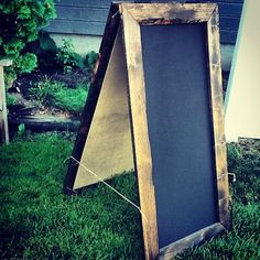 Rustic AFrame Chalkboard 24x48 by MintageDesigns on Etsy // for that cozy cafe vibe