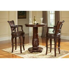 online shopping for Steve Silver Company Antoinette Pub Table Lush Cherry from top store. See new offer for Steve Silver Company Antoinette Pub Table Lush Cherry Bar Table, Bar Chairs, Table, Bars For Home, Pub Table Sets, Bar Furniture, Pub Set, Patio Bar Set, Bar Stool Furniture