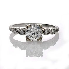 Replica Art Deco Engagement Ring