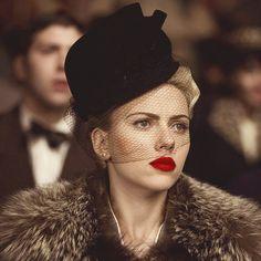 Scarlett Johansson in The Black Dahlia, costumes by Jenny Beavan, 2006