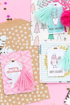 Crate Paper Snow and Cocoa 2017 | Cute Xmas Treat Bags