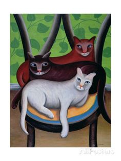 Three Is a Crowd Stampa giclée di Jerzy Marek su AllPosters.it
