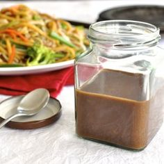 Real Chinese All Purpose Stir Fry Sauce (Charlie!) Restaurant Secret: Real Chinese All Purpose Stir Fry Sauce you can make in 2 minutes and store in the fridge for when you need it. Stir Fry Recipes, Sauce Recipes, Cooking Recipes, Wok Sauce, Hoisin Sauce, Stirfry Sauce Recipe, Rice Sauce, Marinade Sauce, Chinese Stir Fry Sauce