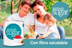 El Azúcar de Agave contiene fibra