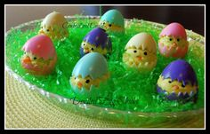 How adorable is this?! deviled egg chicks recipe. My kids will LOVE these!!