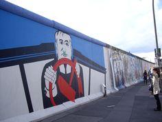 Street Art Berlin, Artist: Georg Lutz Rauschebart -East Side Gallery