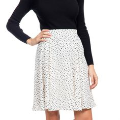 Mini Dot Nantes Skirt