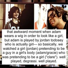 AND I LOVED IT <3  #DegrassianQueen