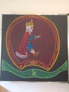 Koning Letterbeeld klas 1