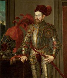 Archduke Ferdinand II (1529-1595), elbow armor in Eagle | Francesco Terzio | in 1550