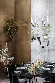 Are you looking for the perfect light source for a big dinner with your friends and family? If yes, then this stunning candleholder from House Doctor John Lewis Christmas Tree, Noel Christmas, Christmas 2019, White Christmas, House Doctor, Decoration Table, Xmas Decorations, Interior Design Quotes, Christmas Trends