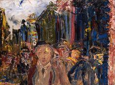 jack b yeats paintings Kensington School, Jack B, Edvard Munch, Fauvism, Irish Art, Pope Francis, Famous Artists, Contemporary Paintings, Word Art