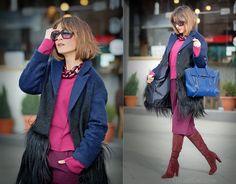 burgundy colors outfit, galant girl, 3.1 Phillip Lim pashli bag, stuart weitzman boots,
