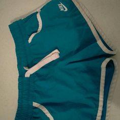 Nike shorts Blue and white running Nike Shorts