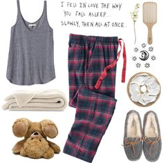 """""""i fell in love the way you fall asleep... slowly, then all at once"""" by jocelynjasso2005 on Polyvore"""
