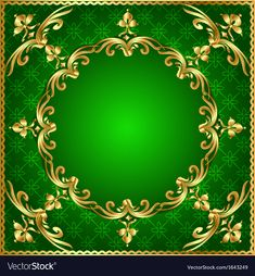 Green background a frame vector image on VectorStock Wedding Background Images, Studio Background Images, Background Images Wallpapers, Gold Wallpaper Phone, Wallpaper Space, Apple Wallpaper, Best Flower Wallpaper, Beautiful Nature Wallpaper, Islamic Background Vector