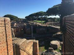 Ostia Antica passeio imperdível em Roma na Itália | Blog da Mari Calegari