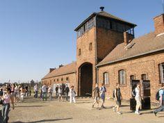 Birkenau. Auschwitz. En Pologne.Voyage en Europe de l'Est en 2008.