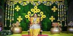 Wedding Backdrop Design, Desi Wedding Decor, Wedding Hall Decorations, Engagement Decorations, Backdrop Decorations, Flower Decorations, Backdrops, Naming Ceremony Decoration, Marriage Decoration
