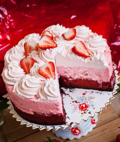 Calling all strawberry lovers – this extravagant cheesecake is for you! Triple layer red velvet cheesecake with a chocolate crust, a strawberry mousse layer and strawberry whipped cream topping!This cake is loaded with cheesecake flavor and tons of fresh strawberries! It's perfect any time of the year, but especially for Valentine's day for that someone […]