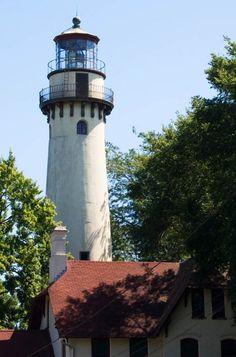 Grosse Point Lighthouse in Evanston, Illinois