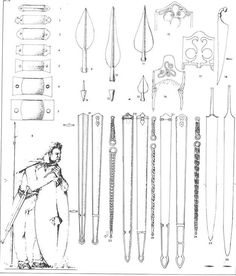celtic reference - Page 4 - Tutorials, references and art help - Wildfire Games Community Forums Celtic Warriors, Celtic Culture, 1st Century, Iron Age, Ancient History, Parma, Weapons, Tutorials, Community