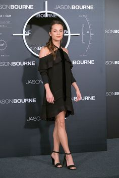 Actress Alicia Vikander attends 'Jason Bourne' photocall at Villamagna Hotel on July 13 2016 in Madrid Spain