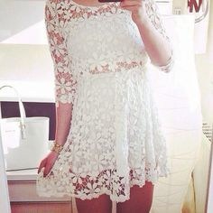 Lace Dress| So Pretty