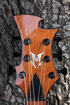 Neal Moser Guitars MCS Discordian headstock