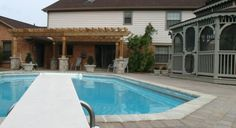 picture of pergolas around patio block | Smith Paver Pool Surround and Pergola - Dayton, Ohio | The Site Group ...