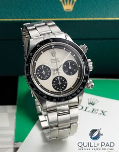 """Rolex """"Paul Newman"""" sold by Antiquorum for $231,750"""