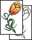 Tulip Flower Tattoo Designs | Tattoo Design Gallery - Downloadable Tattoos - Free Ideas for Tribal ...