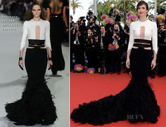 Paz Vega in Stéphane Rollandd Spring 2012 Couture gown.