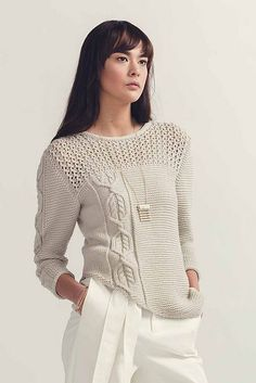Ravelry: Iclyn Sweater pattern by Anna Harris