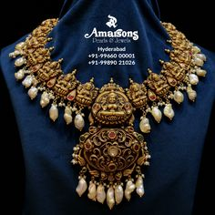 🔥😍 Nakshi Gold Necklace with Natural Pearls from @amarsonsjewellery ⠀⠀⠀⠀⠀⠀⠀⠀⠀⠀⠀⠀⠀⠀⠀⠀⠀⠀⠀⠀⠀.⠀⠀⠀ For any inquiry DM now👉: @amarsonsjewellery⠀⠀⠀⠀⠀⠀⠀⠀⠀⠀⠀⠀⠀⠀⠀⠀⠀⠀⠀⠀⠀⠀⠀⠀⠀⠀⠀⠀⠀⠀⠀⠀⠀⠀⠀⠀⠀⠀⠀.⠀⠀⠀ For More Info DM @amarsonsjewellery OR 📲Whatsapp on : +91-9966000001 +91-8008899866.⠀⠀⠀⠀⠀⠀⠀⠀⠀⠀⠀⠀⠀⠀⠀.⠀⠀⠀⠀⠀⠀⠀⠀⠀⠀⠀⠀⠀⠀⠀⠀⠀⠀⠀⠀⠀⠀⠀⠀⠀⠀⠀⠀ ✈️ Door step Delivery Available Across the World ⠀⠀⠀⠀⠀⠀⠀⠀⠀⠀⠀⠀⠀⠀⠀⠀⠀⠀⠀⠀⠀⠀⠀ .⠀⠀ #amarsonsjewellery #yourtrustisourpriority #goldearrings #goldstuds #exclusivjewellery #elegantjewellery #tre Gold Temple Jewellery, Gold Necklace, Delivery, Brooch, Photo And Video, Pearls, Natural, Beautiful, Instagram