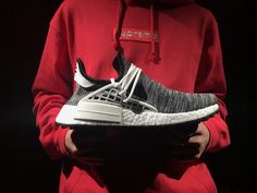"35ee7ed8437e5 Pharrell Williams x Adidas NMD Human Race ""Core Black"" Real Boost AC7359 24 Adidas  Nmd"