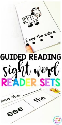 Guided Reading Emergent Readers, Digital Books, and Sight Word Sentences Sight Word Sentences, Teaching Sight Words, Sight Word Activities, Kindergarten Classroom, Classroom Activities, Classroom Ideas, Sight Word Readers, Guided Reading Groups, Creative Teaching
