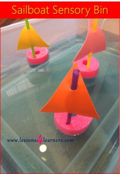 Sailboat Sensory Bin