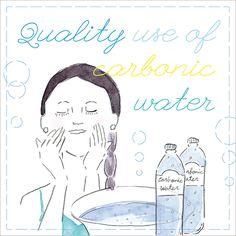 Quality use of carbonic water 飲んで、洗う。東京的・炭酸水マジックで体感しよう  - vol.1 Good Morning TOKYO