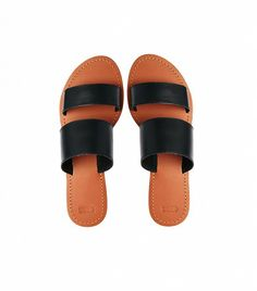 @Who What Wear - ASOS Federal Leather Sliders ($38)  ​A chic pair of slip-on sandals will go a long way.