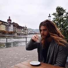 Coffee in Lucerne, Switzerland. Can not complain..   This city is amazing! ~~ Brock O'Hurn