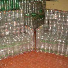 Artesanato com Garrafas PET - Plásticos - Arte Reciclada - Sofás e Poltronas
