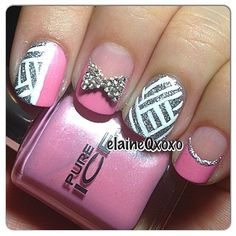 Instagram photo by elaineqxoxo #nail #na - http://yournailart.com/instagram-photo-by-elaineqxoxo-nail-na/ - #nails #nail_art #nails_design #nail_ ideas #nail_polish #ideas #beauty #cute #love