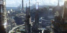 Conheça o cenário futurista de Tomorrowland: Um Lugar Onde Nada é Impossível - Cinema10.com.br