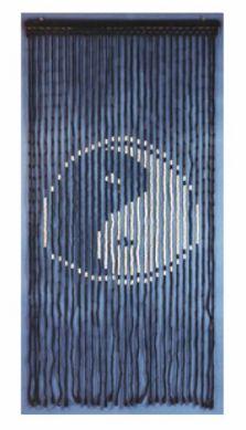 Yin Yang Wooden Beaded Curtains Bamboo Beaded Curtains, Door Beads, Yin Yang, Future, Wood, Ideas, Design, Future Tense, Woodwind Instrument