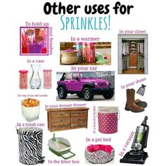 Pink Zebra! What will you do with your Sprinkles?!
