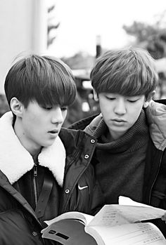 "Sehun and Chanyeol on ""EXO Next Door"""