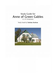 an analysis of the copy of anne of green gables The anne of green gables store in cavendish is the perfect stop to pick up all things anne, from a straw hat with braids, to your very own copy of the novel.