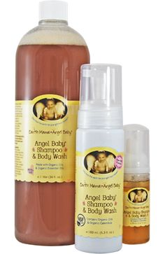 Earth Mama Angel Baby. Great products for baby and mom!  Everything on the ingredient label makes sense.